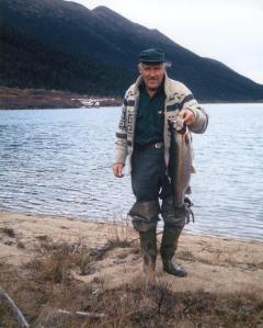 Outfitter George Dalziel about 1974