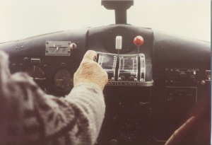 Dals last Beaver flight into Bluesheep Lake, about September 1981