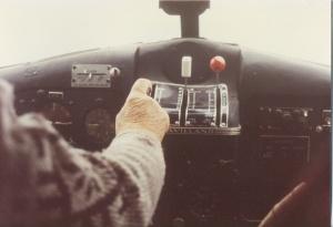 Dals last Beaver flight into Bluesheep Lake, about September 1981